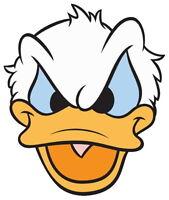 Donald Duck Mickey Mouse Vinyl Sticker Diecut 4 Stickers
