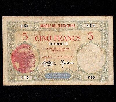 See description!!! Reproductions DJIBOUTI 1000 francs 1938s