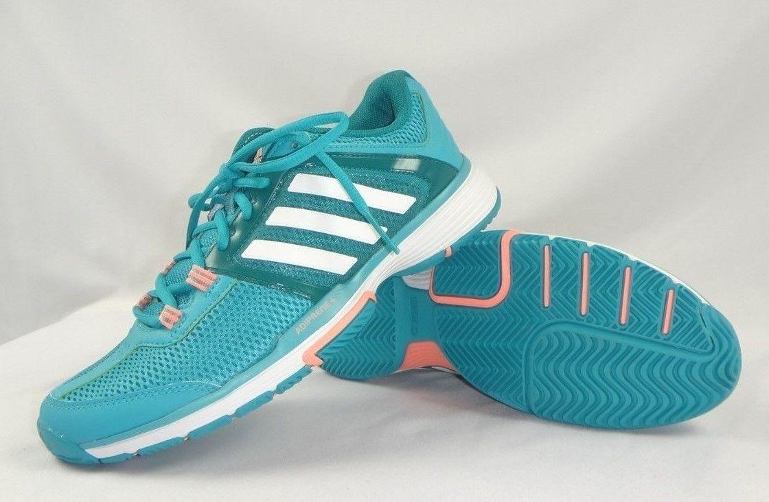 ADIDAS WOMENS Barricade club w Tennis Sneaker Training SHOE Sizes US 7, 7.5