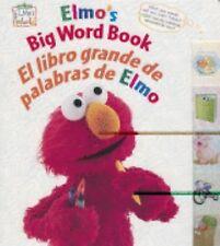 Elmo's Big Word Book/El libro grande de palabras de Elmo (Sesame Street Elmo's