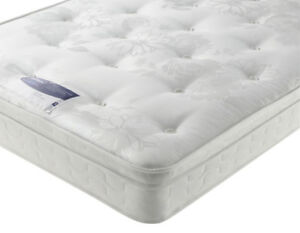 Silentnight Jeannie Ortho Hypoallergenic Miracoil 174 Mattress Clearance Double Ebay