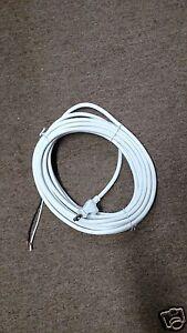 oreck xl xl2 upright vacuum cleaner part 30 2 wire power cord white rh ebay com