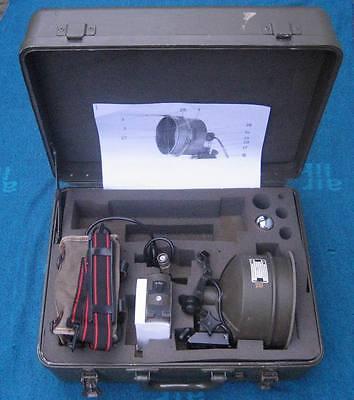 Ir-scheinwerfer-satz Fürs Fero 51 Mit Koffer+akku+montage+ersatzbirnchen Fero51 Binocular Cases & Accessories