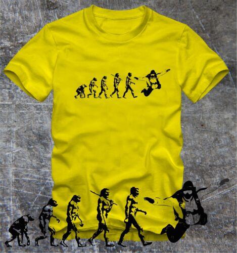 """T-shirt Evolution sauter en parachute sky diver /""""numériques directement pression/"""""""