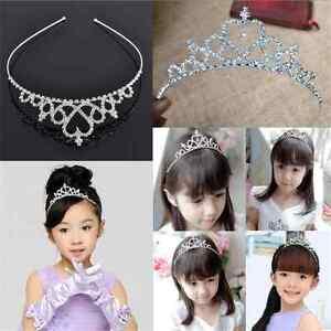 New-Cute-Kid-Tiara-Hair-Band-Girl-Bridal-Wedding-Princess-Prom-Crown-Headband-TR