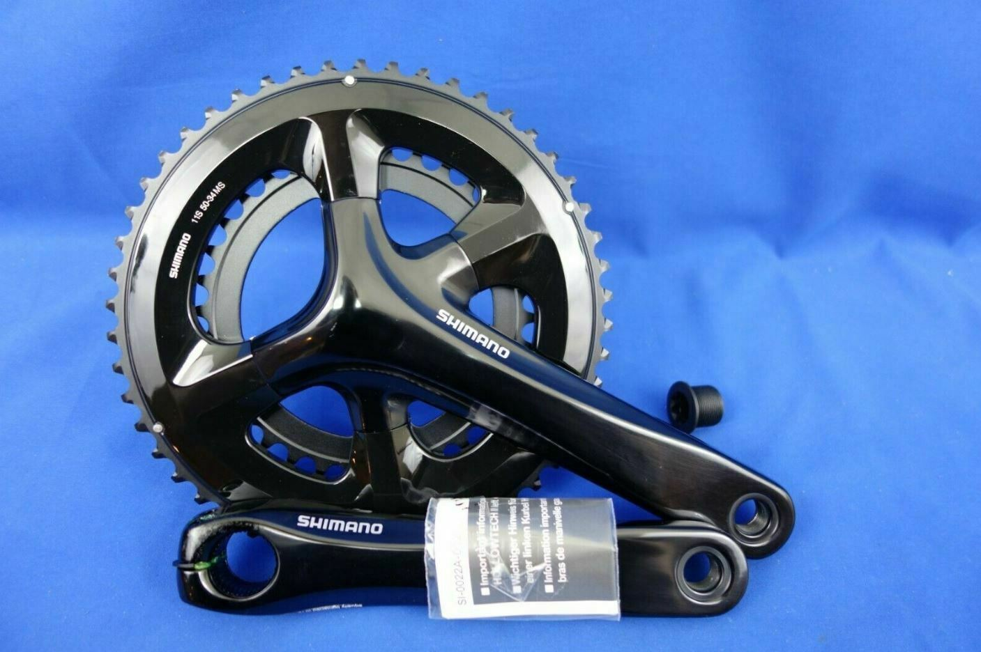 NEW Shimano FC-RS510 2x11 Speed Road Fahrrad Crankset 175mm 50 34T BB Option