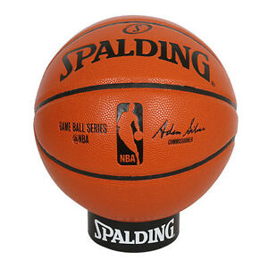 Spalding NBA Game ball Replica Basketball Ball Size7 Indoor Outdoor ... 3a97b4e75