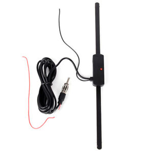 Car-Aerial-Antenna-Windshield-Electric-Radio-12V-FM-AM-Automatic-Aerial-Anten-LI