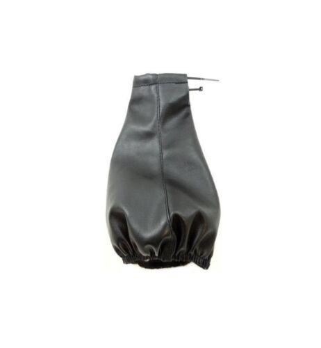 Schwarz Auto Schaltknauf Schalthebel /& Manschette Abdeckung Hebel Stick Für