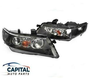 Pair of Headlights Left & Right for Honda Accord Euro CL 03-05 (NON LUXURY TYPE)