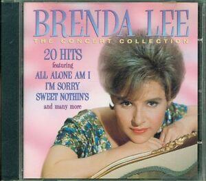 Brenda-Lee-The-Concert-Collection-Cd-Eccellente