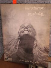 INTRODUCTORY PSYCHOLOGY booklets 1-6 programmed instruction Mental Health 1973