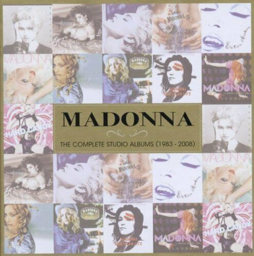 Madonna-The Complete Studio Albums [1983-2008] [CD]