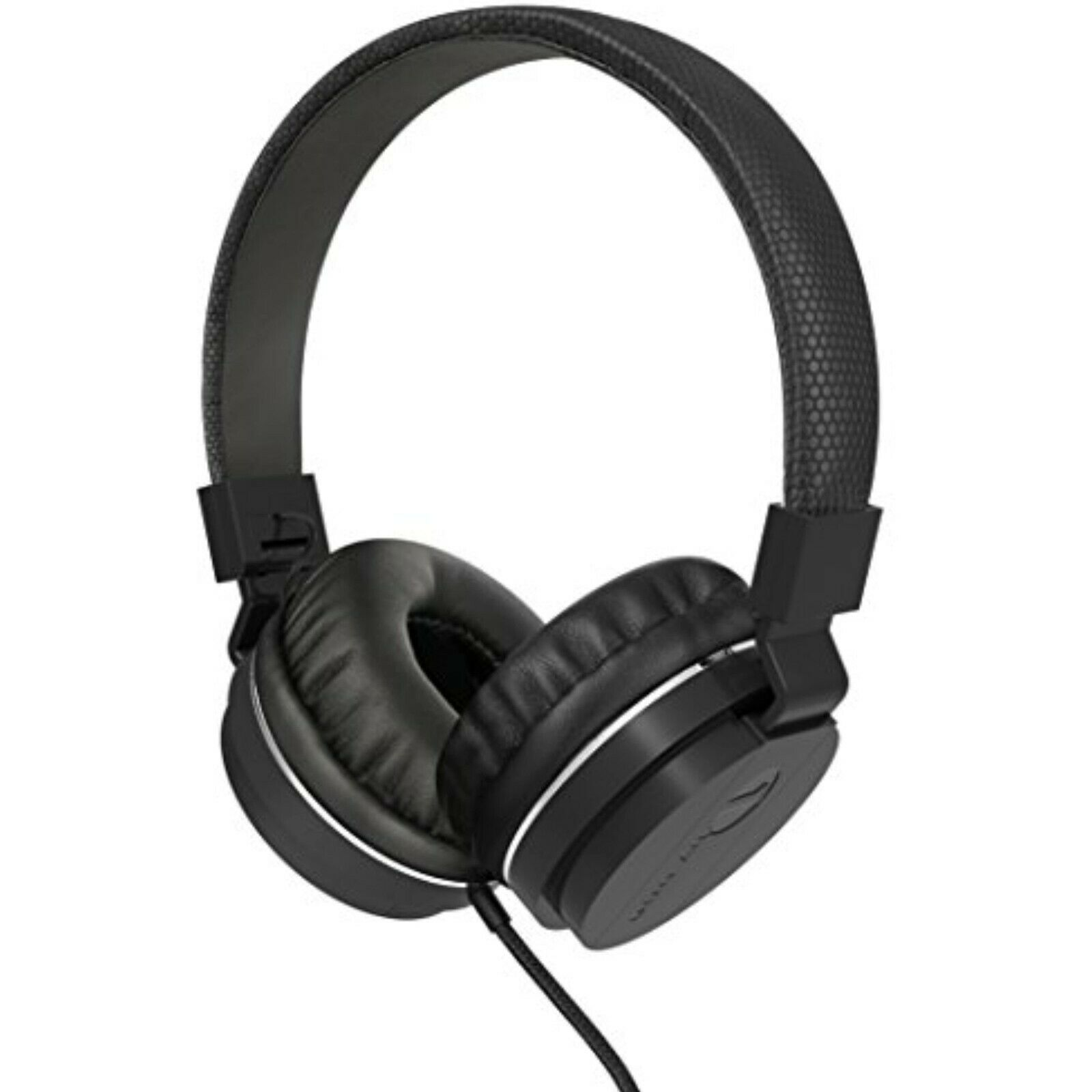 1byone Children Wired Headset, Portable Foldable with Stereo Bass, Black