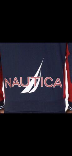 Nautica Sweat glissière à polaire homme à Nouveau pour Petit Taille complète capuche en Signature H8dcAx