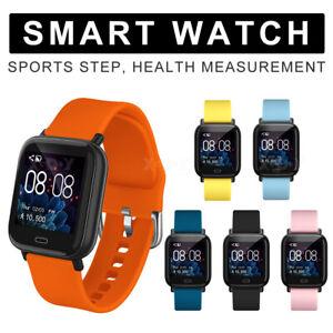 xgody smartwatch sport fitness uhr wasserdicht herren damen f r iphone android ebay. Black Bedroom Furniture Sets. Home Design Ideas