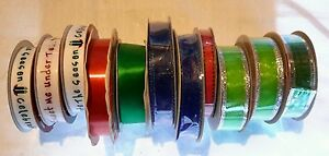 Lot of 11 Holiday Time Inspirations Christmas Ribbon Crafts Some Vinage