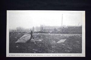 Adroit Fabbrica Di Annen Dopo Esplosione 24000 Chilogrammi Di Roburite Stampa Del 1906