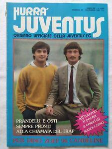 HURRA-039-JUVENTUS-N-11-NOVEMBRE-1981-POSTER-MAROCCHINO-PRANDELLI-DINO-ZOFF