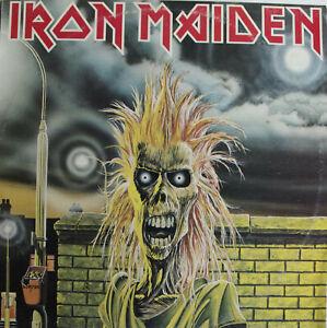 Iron Maiden IRON MAIDEN Australian ORIGINAL 2nd Pressing EMI Records RARE LP