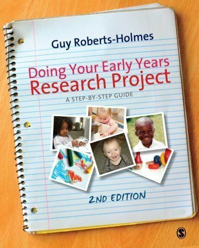 Doing your Early Years Research Project: A Step by Step Guide-ExLibrary