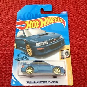 Hot-Wheels-039-98-SUBARU-IMPREZA-22B-STi-2020-A-Case-HW-Turbo-1-5-034-GHB42-034-Brand-NEW