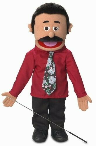 Silly Puppets Carlos (Hispanic) 25 inch Full Body Puppet
