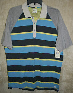 NWT Arrow L//S Sleeve 3 Button Polo shirt Colors Solid Stripe soft Poly Blend