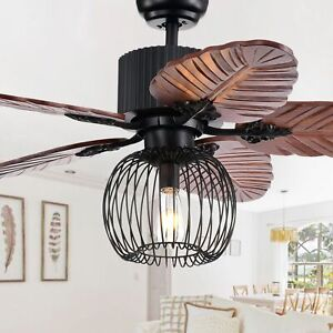 Aguano 48 Inch Lighted Ceiling Fan And