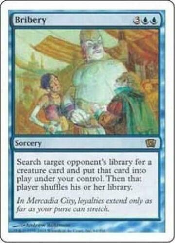 Bribery NM MTG Eighth Edition 8th Magic