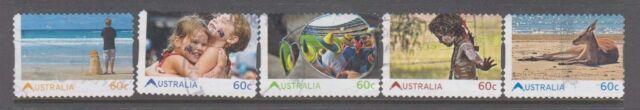 Australia 2011 Living Australians  Fine Used set 5 p & s stamps