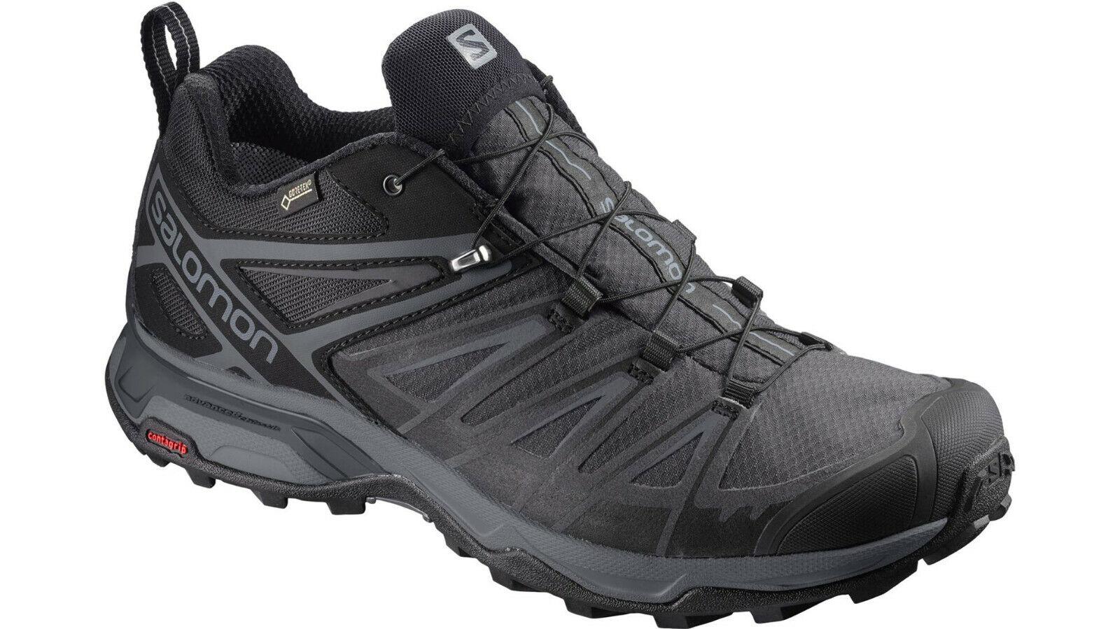 Salomon X Ultra 3 GTX Hiking Shoe Men's BlackMagnet