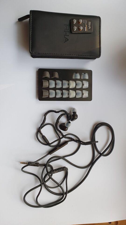 in-ear hovedtelefoner, Andet mærke, Rha T20i