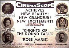 KNIGHTS OF THE ROUND TABLE Original 1954 Film Advert - Ava Gardner Movie Ad