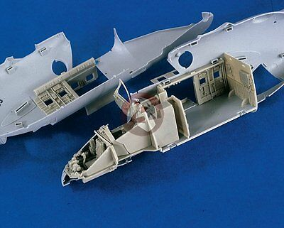 Verlinden 1/35 Mil Mi-24V Hind Cockpits & Cargo Compartment (for Trumpeter) 2349
