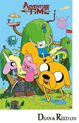 Adventure Time 61cm x 91.5cm PP32957-567 House Maxi Poster