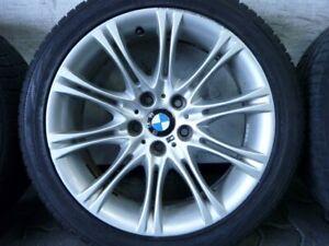 WINTERREIFEN-ALUFELGEN-ORIGINAL-BMW-M-DOPPELSPEICHE-135-M135-E60-E61-245-40-R18