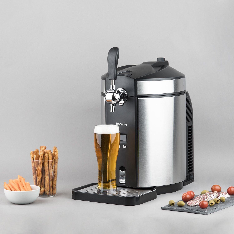 Tirador de Cerveza 5 Litros Sistema Enfriado Integrado Barriles Universales 5 L