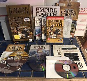 Empire-Earth-Gold-amp-Empire-Earth-II-2-Lot-PC