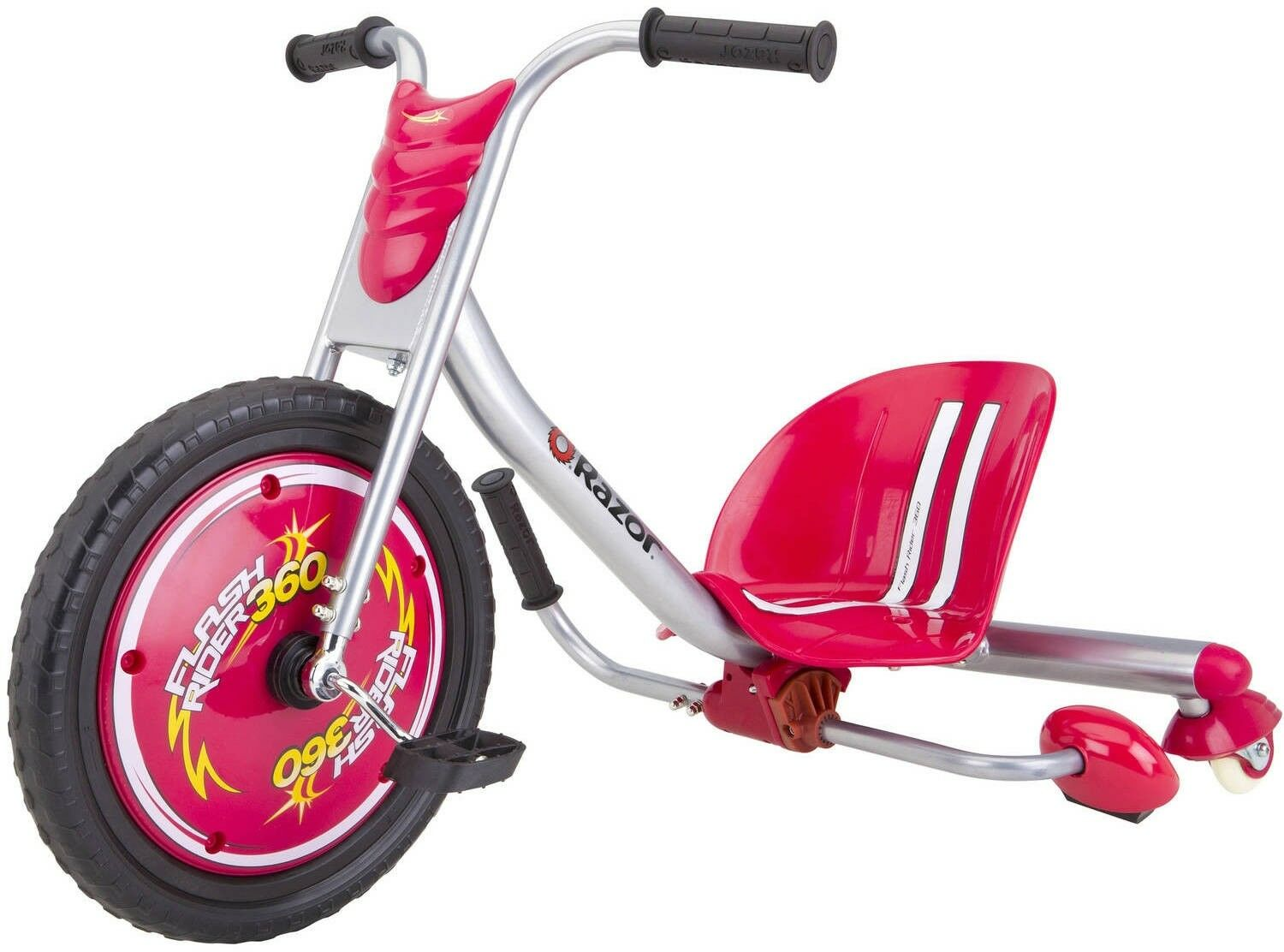 Sparking Trike Ride On Toy Kids Kids Kids Tricycle Exciting 360 Degree Spins Razor Red 0b5f79