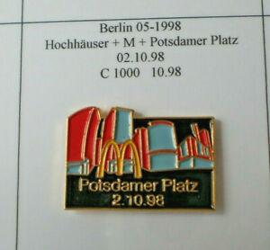 mcdonalds pins, BERLIN, POTSDAMMERPLATZ 05