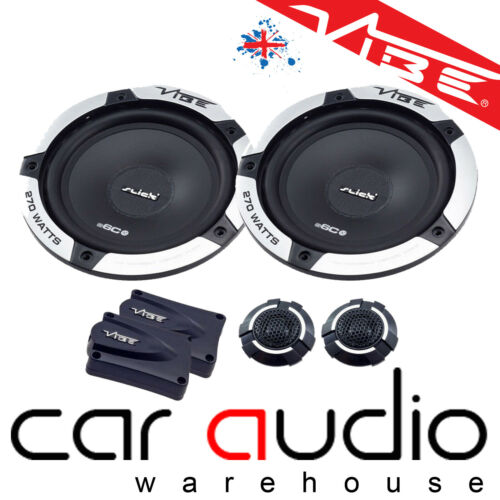 BMW Mini R50 R52 R53 01-06 Vibe Slick 6 Comp 540W delantero Adaptador de Altavoz de Coche Kit