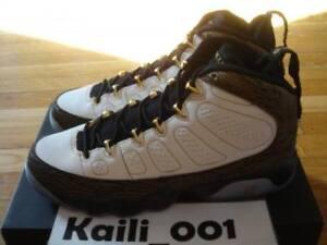 low priced 7c4b5 b2931 Image is loading Nike-Air-Jordan-9-Retro-DB-GS-Doernbecher-
