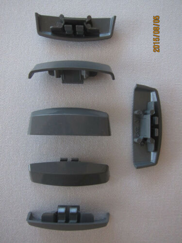ws37 pour schüco uvm L/' eau fente casquettes 20 pcs pour pvc-fenêtre basaltgrau