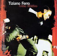 TIZIANO FERRO : ROSSO RELATIVO / CD