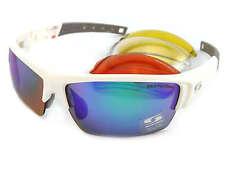 SUNWISE Prescription ATLANTA Sports White sunglasses 4 x Interchangeable Lenses