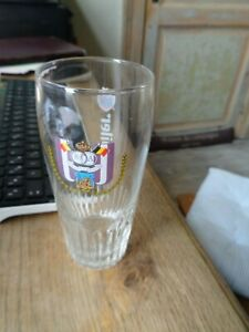 Jupiler glas verre beer glass 25 cl Anderlecht