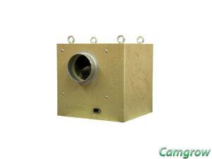"""Gekko Acoustic BOX Fan 150 mm 6"""" 1000 m³ Silent Acoustic Ventilateur d'extraction  </span>"""