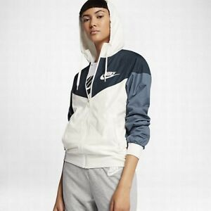 478d6b6f7141 Nike Sportswear Windrunner Women s Jacket XS Armory Navy Blue Gym ...
