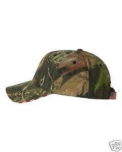 72a83d71074 Outdoor Cap Flag Mossy Oak Break Up US Flag Camo Hunting Baseball ...